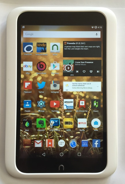 Best ROM options Nook HD